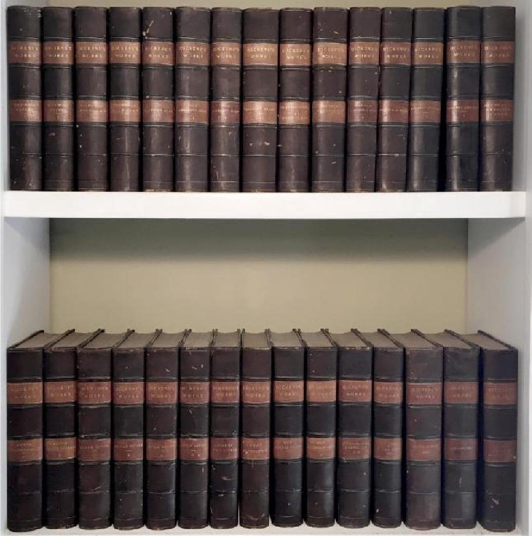 The Works of Charles Dickens, 1877 (29 Vol)
