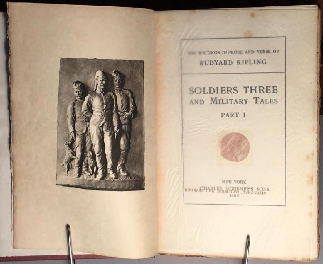The Writings in Prose and Verse of Rudyard Kipling - 4