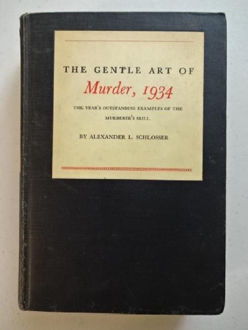 1934 The Gentle Art of Murder