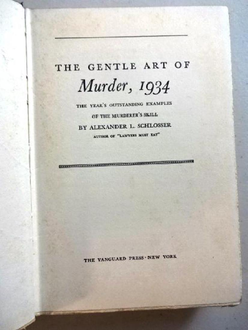 1934 The Gentle Art of Murder - 2