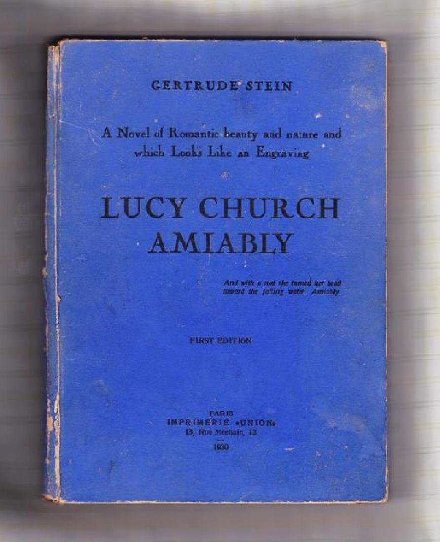 Lucy Church Amiably by Gertrude Stein