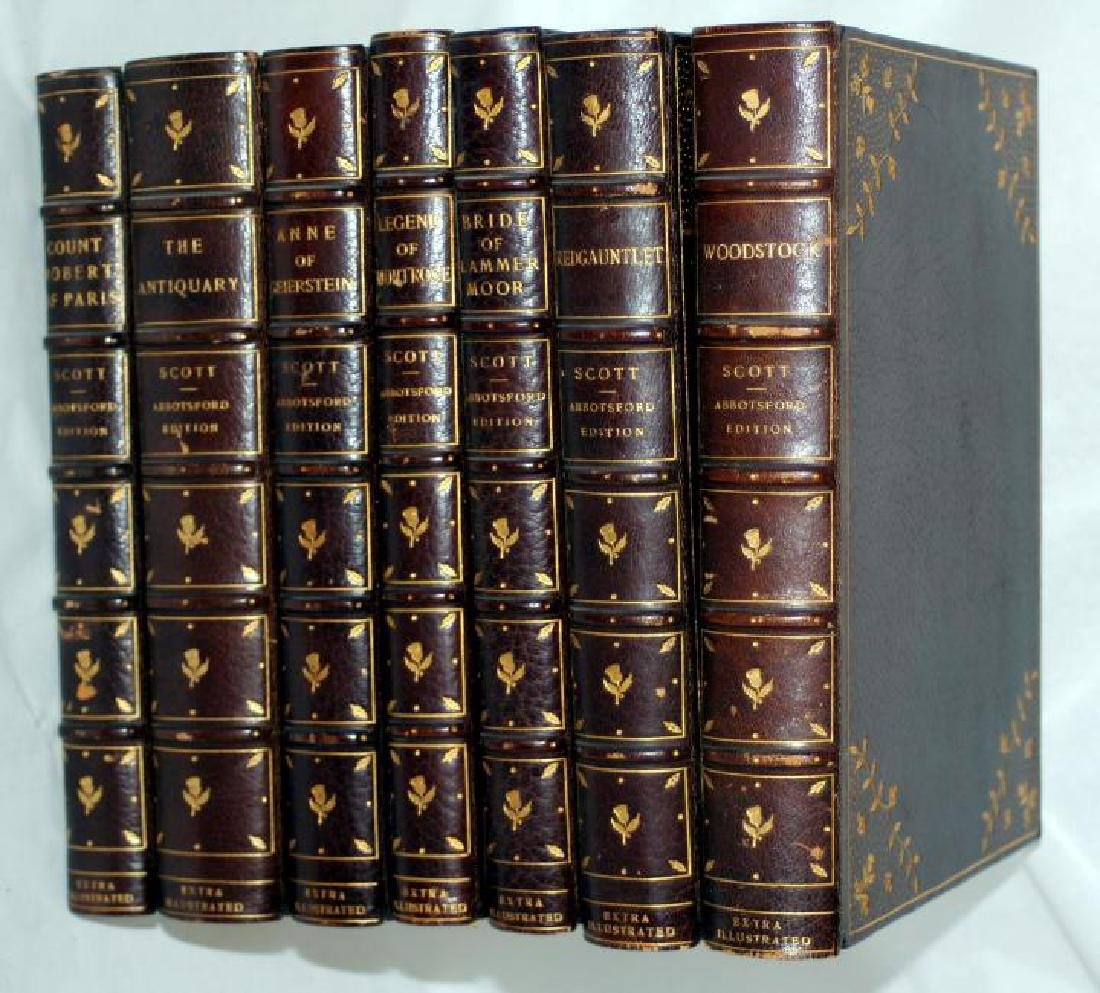 Sir Walter Scott Waverly Novels 1845