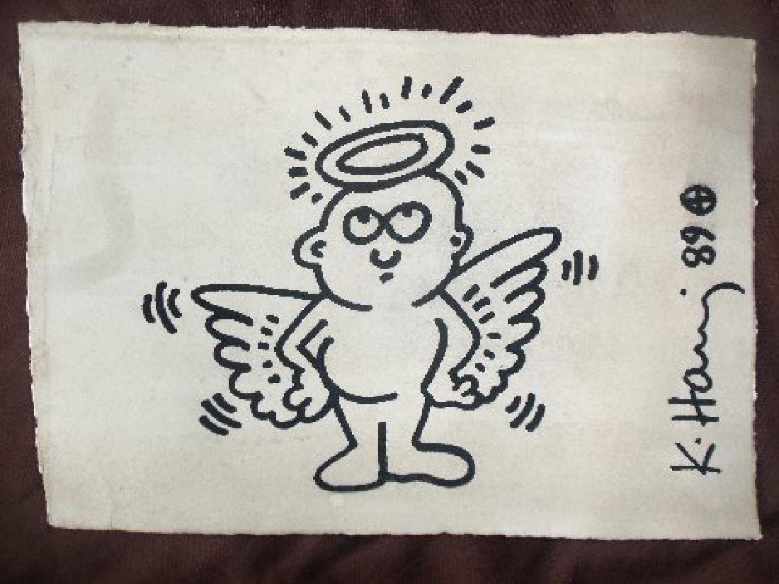 Keith Haring: Radiant Angel - Signed