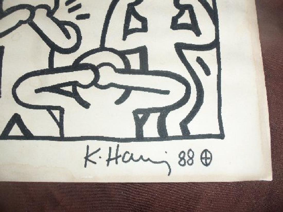 Keith Haring: See, Hear, Speak, No Evil - Signed - 3