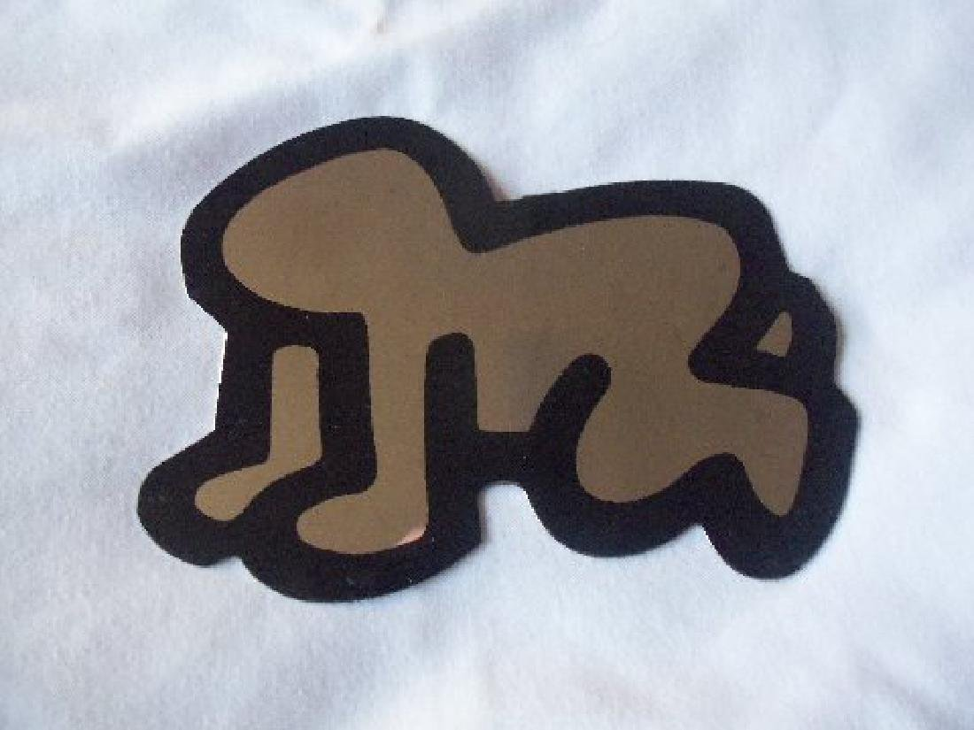 Keith Haring Pop Shop Radiant Baby Decoration, Signed
