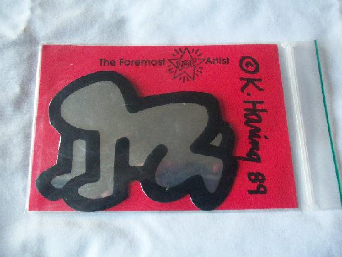 Keith Haring Pop Shop Radiant Baby Decoration, Signed - 4