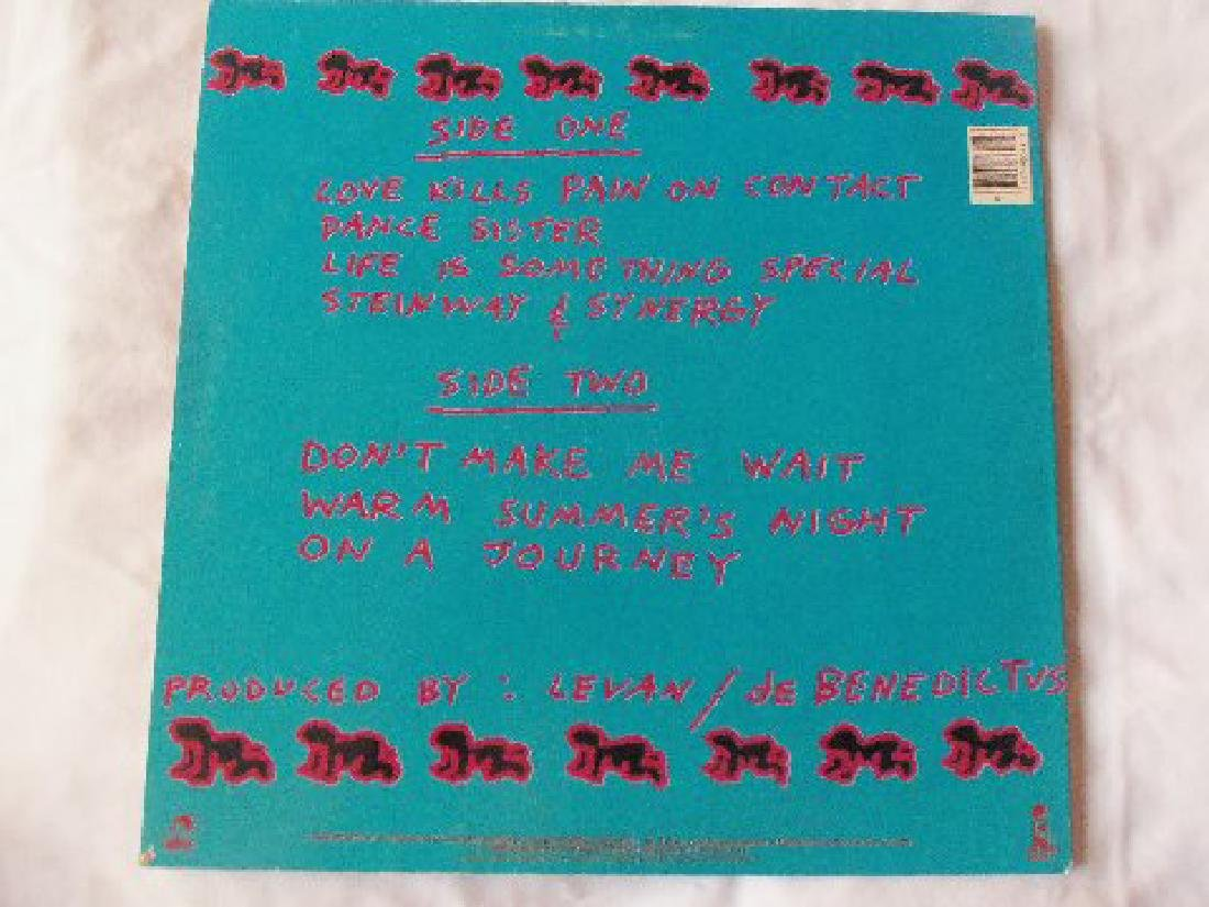 Keith Haring Signed NYC Peech Boys LP - 3