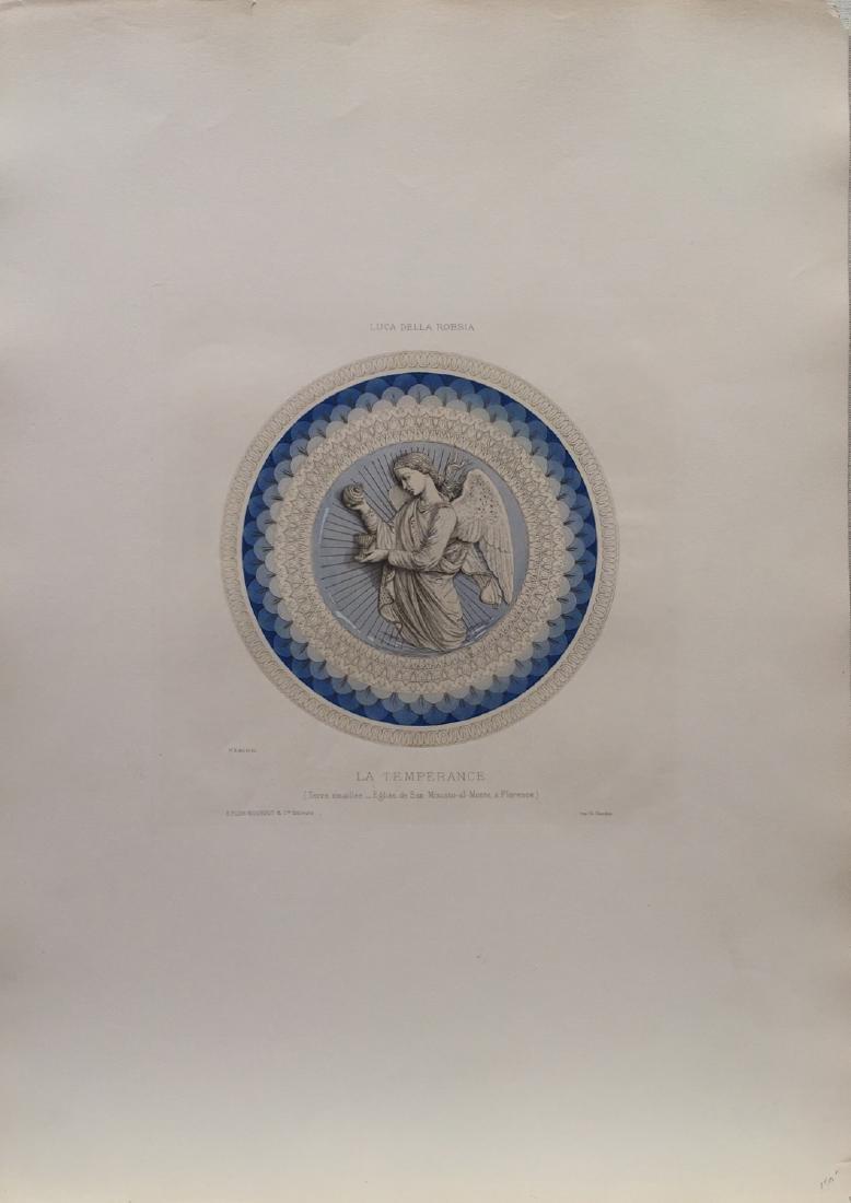 La Temperance Lithograph, 1860