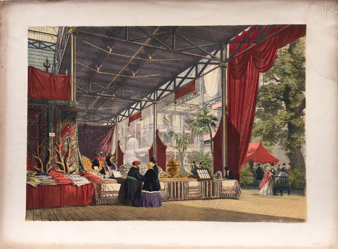 Dickinsons Comprehensive Pictures Great Exhibition 1851