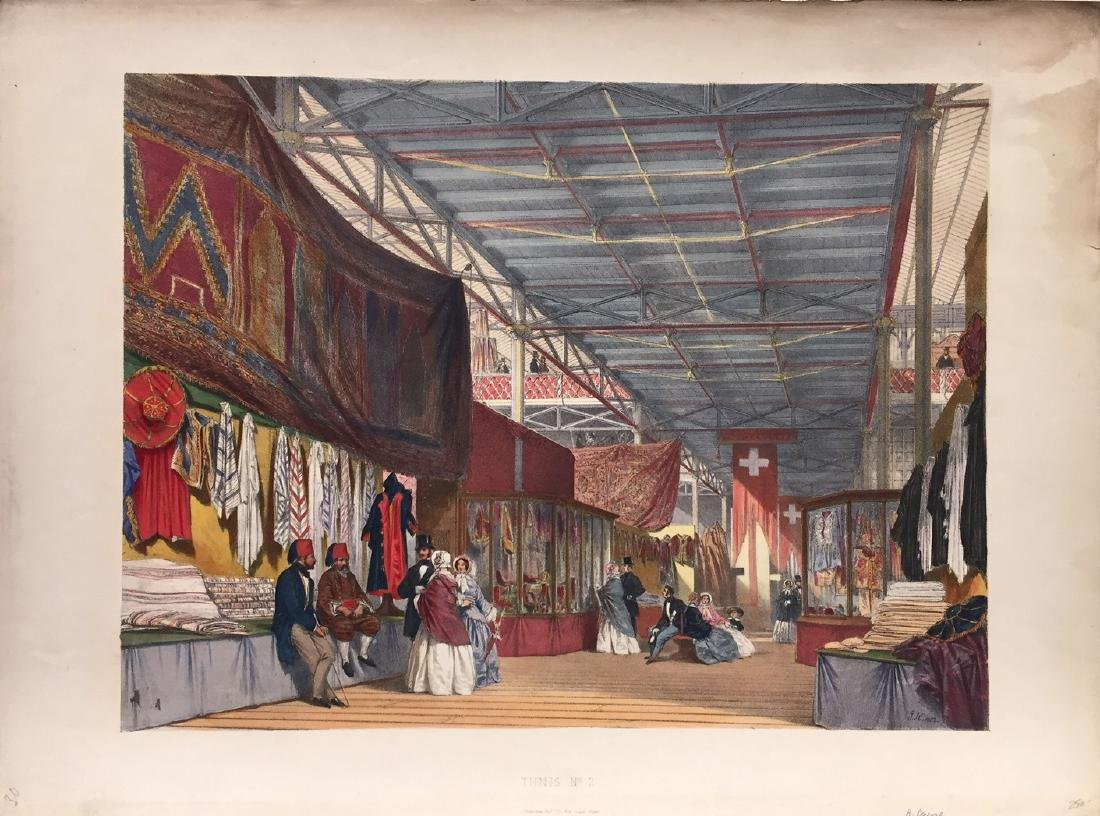 Dickinsons Comprehensive Pictures Great Exhibition 1852
