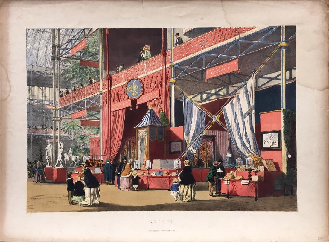 Dickinsons Comprehensive Pictures Great Exhibition 1853