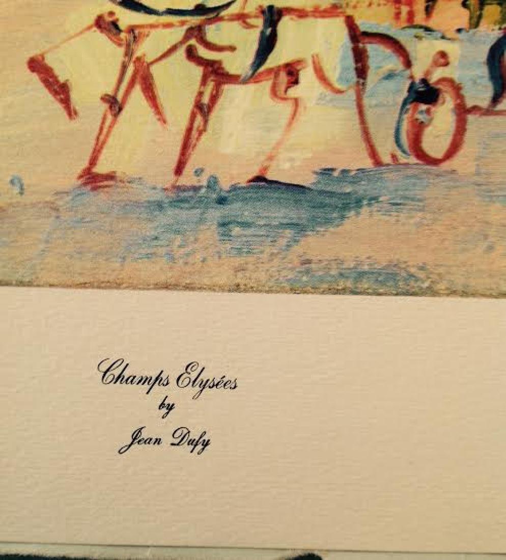 Jean Dufy's 4 Prints Portfolio Paris Scenes - 10
