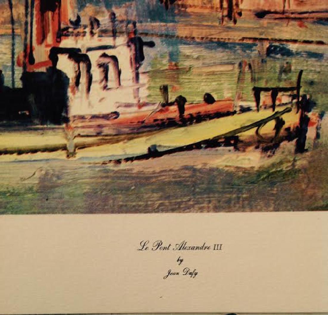Jean Dufy's 4 Prints Portfolio Paris Scenes - 3