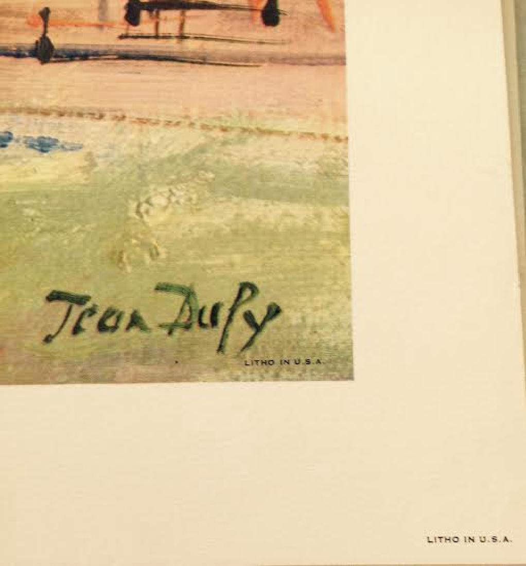 Jean Dufy's 4 Prints Portfolio Paris Scenes - 4