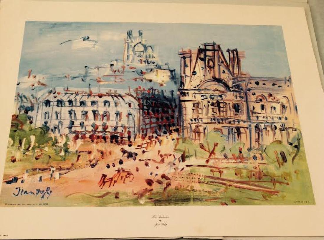 Jean Dufy's 4 Prints Portfolio Paris Scenes - 5