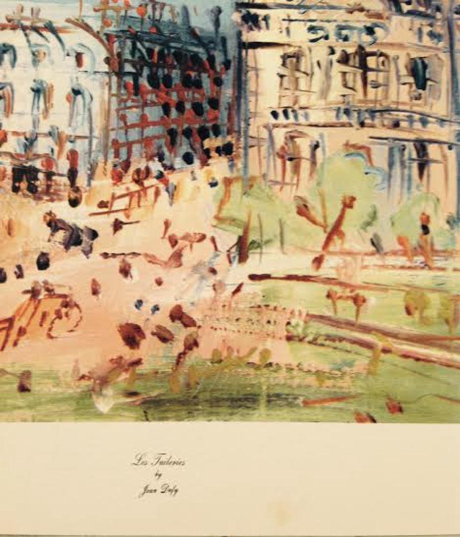Jean Dufy's 4 Prints Portfolio Paris Scenes - 6