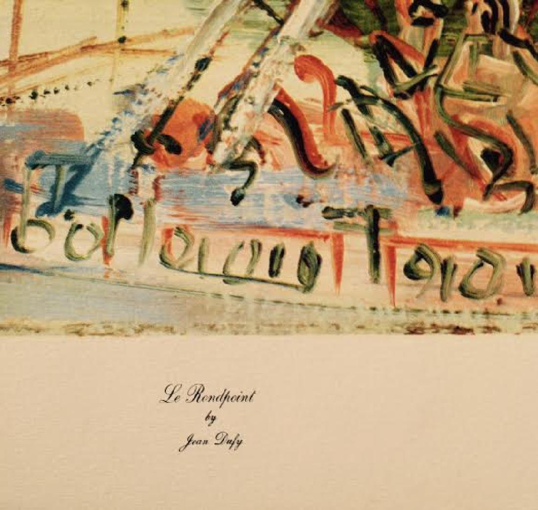Jean Dufy's 4 Prints Portfolio Paris Scenes - 8