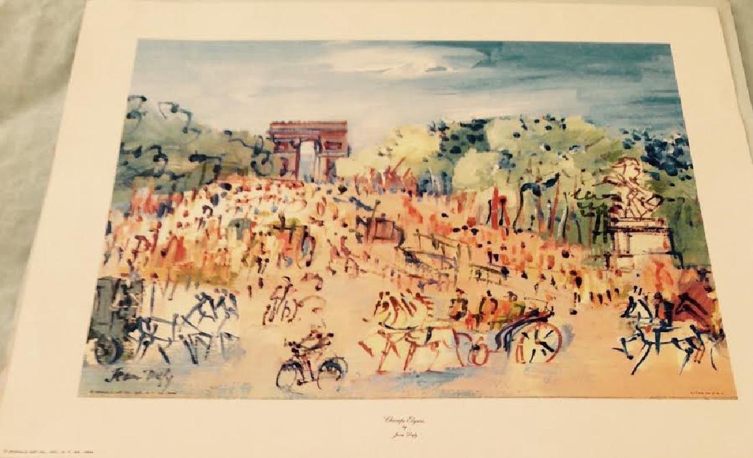 Jean Dufy's 4 Prints Portfolio Paris Scenes - 9