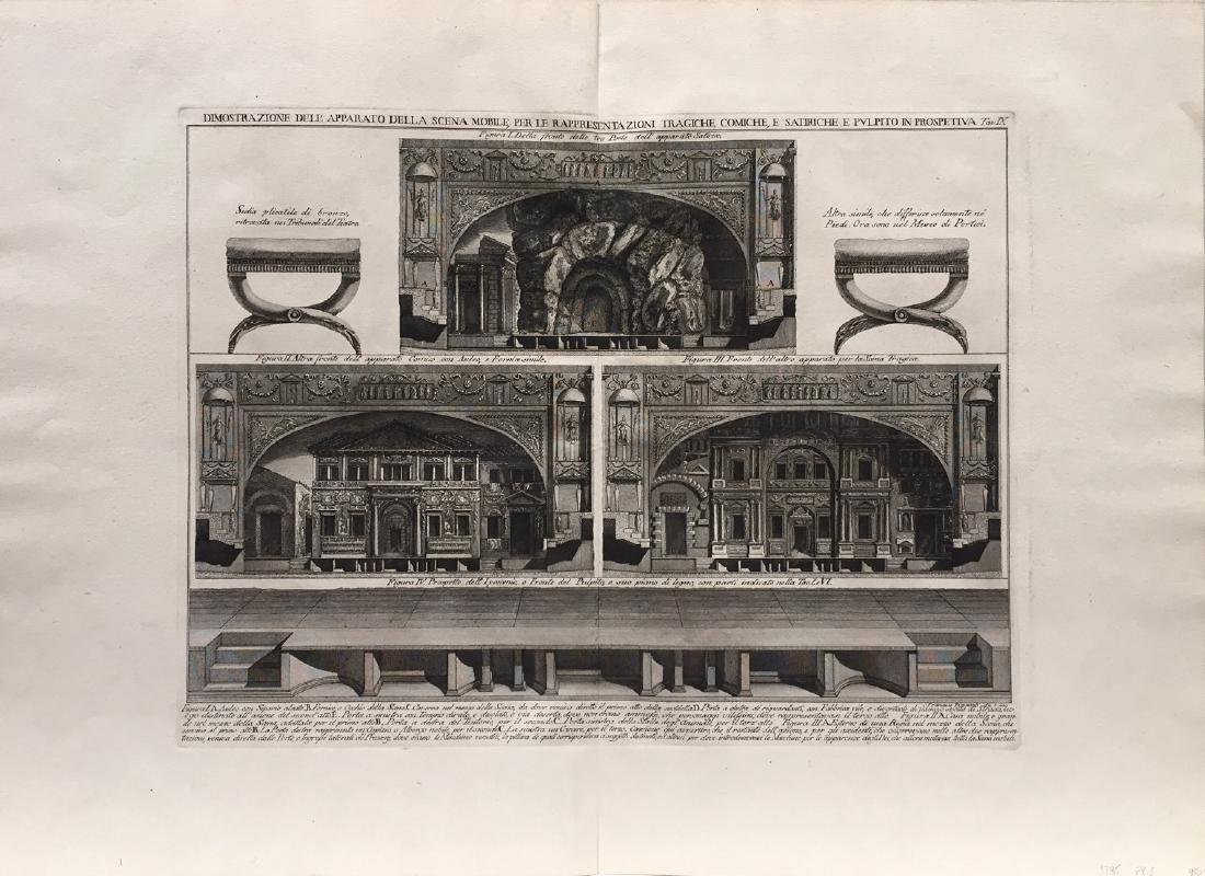 Architectural Prints by Piranesi