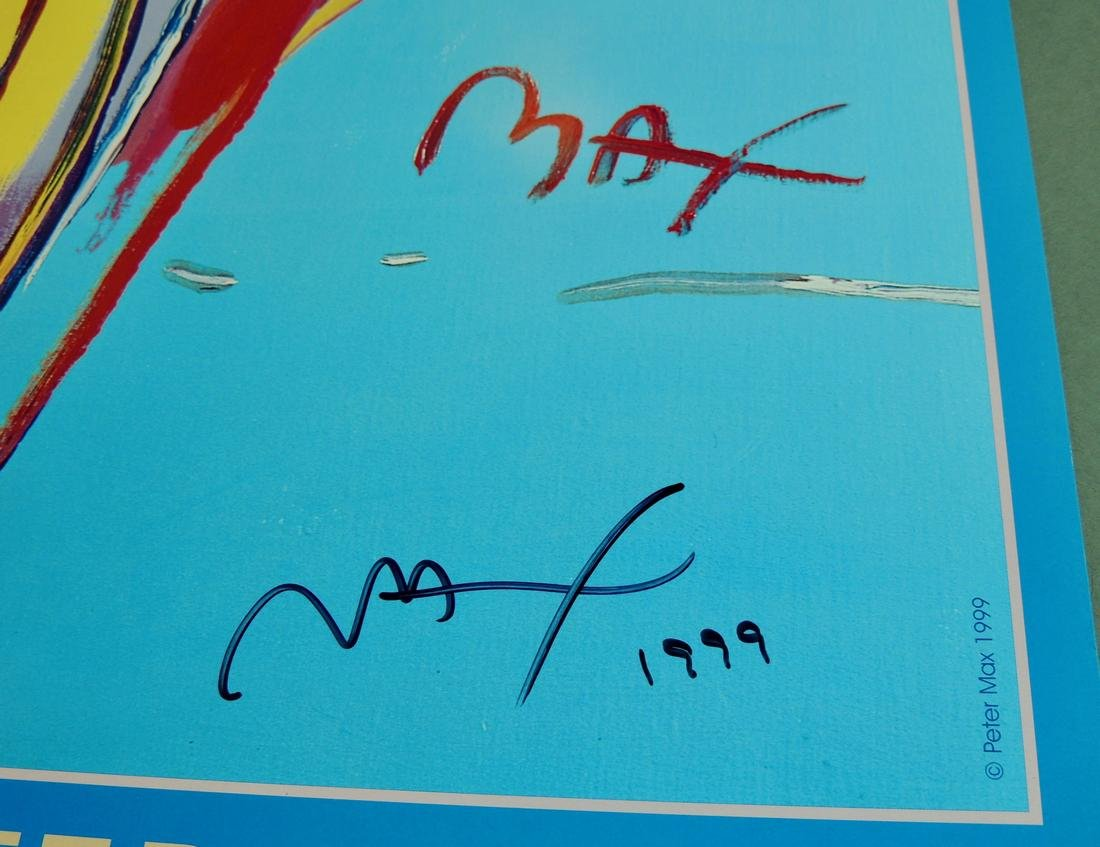 Peter Max Signed The Angel Series - 2