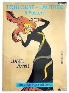 Toulouse-Lautrec 6-Posters Folio 1995 Taschen, Cologne