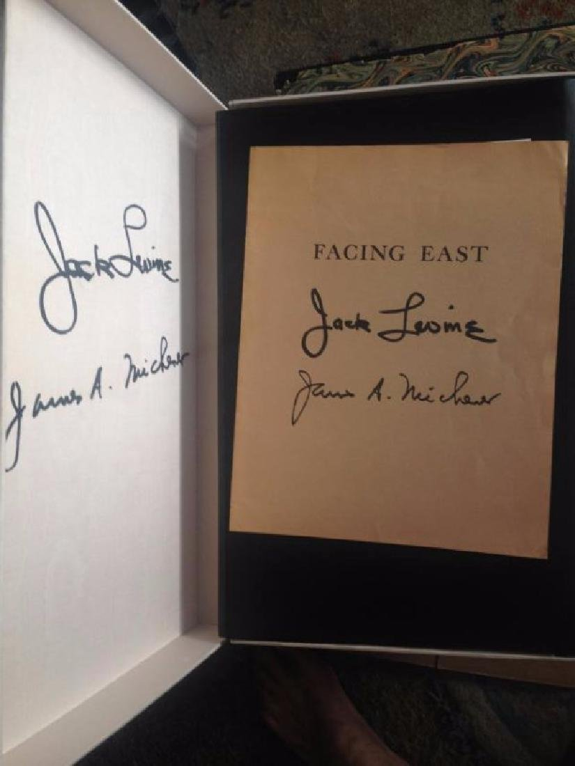 Facing East by J.Michener with Litho's by Sullivan
