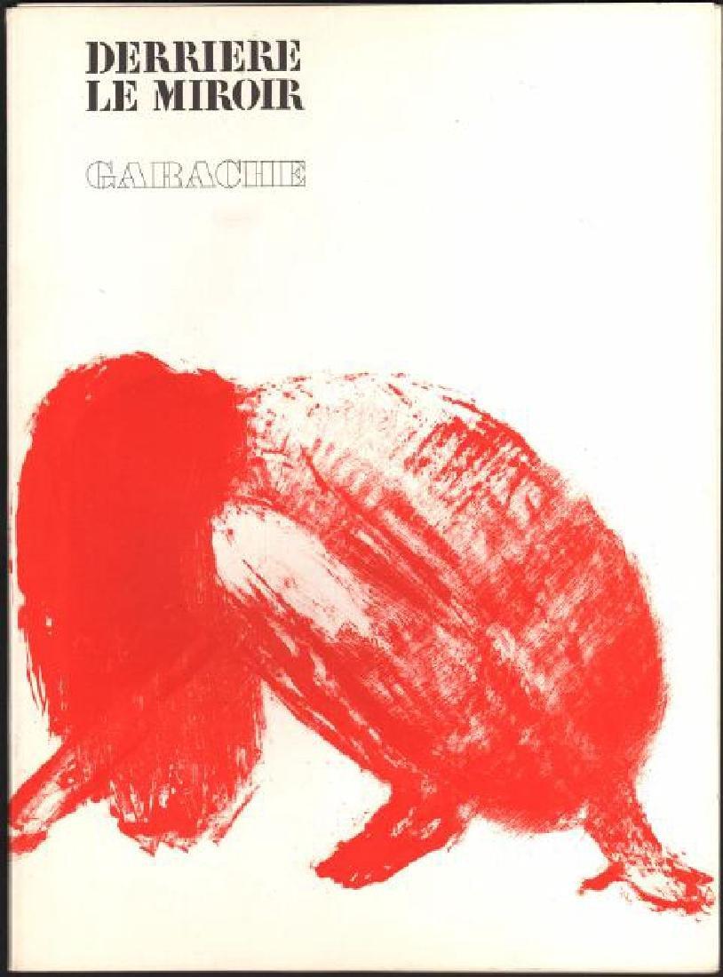 Derriere Le Miroir No. 213 by Claude Garache,1975