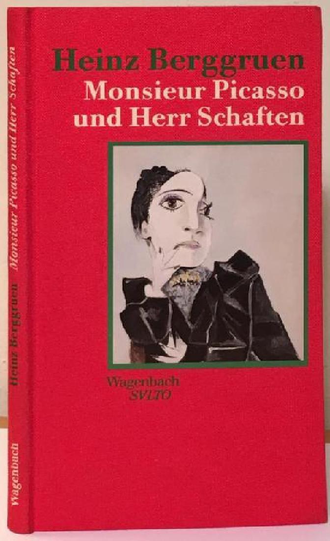 Monsieur Picasso Und Herr Schaften By Heinz Berggruen