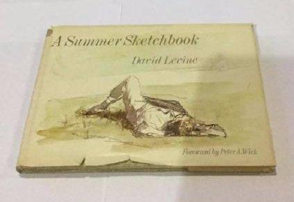 A Summer Sketchbook by David Levine Signed