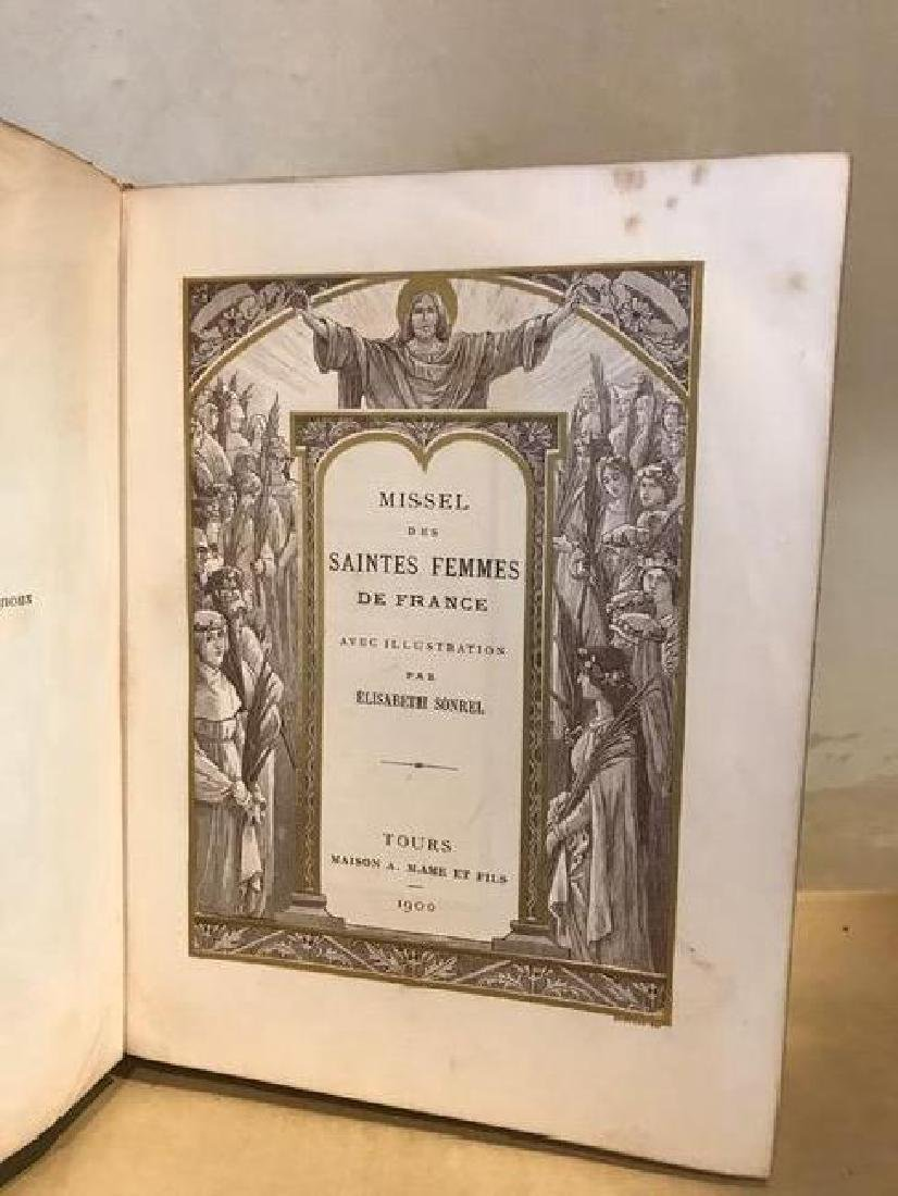 Missel Des Saintes Femmes De France, Elisabeth Sonrel - 6