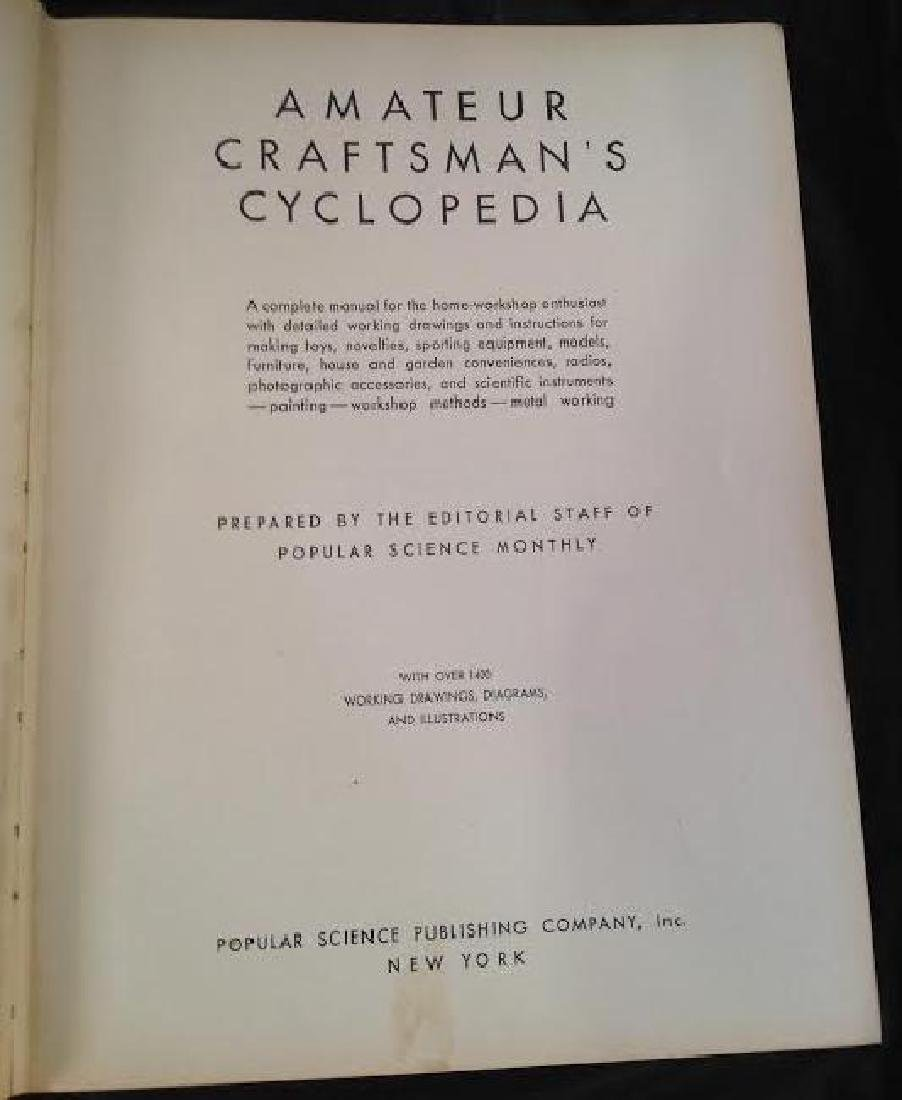 Craftsman Cyclopedia 1937 - 3
