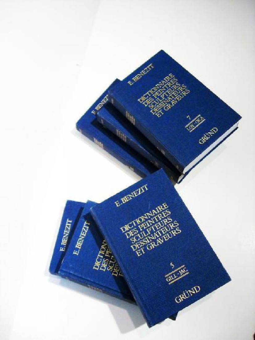 Dictionnaire Peintres Et Sculpteurs E.Benizet
