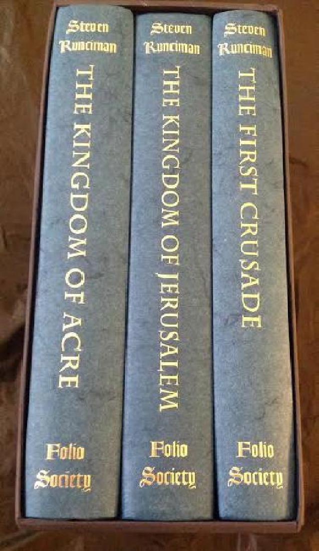 Folio Society History Of The Crusades by S.Runciman - 2