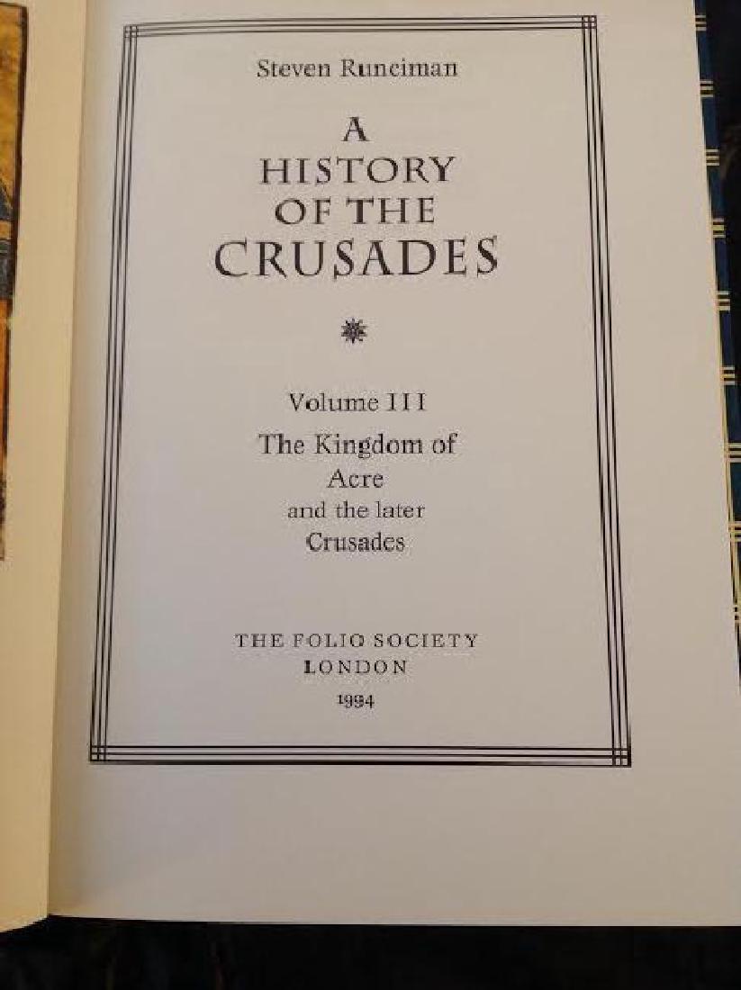 Folio Society History Of The Crusades by S.Runciman - 5