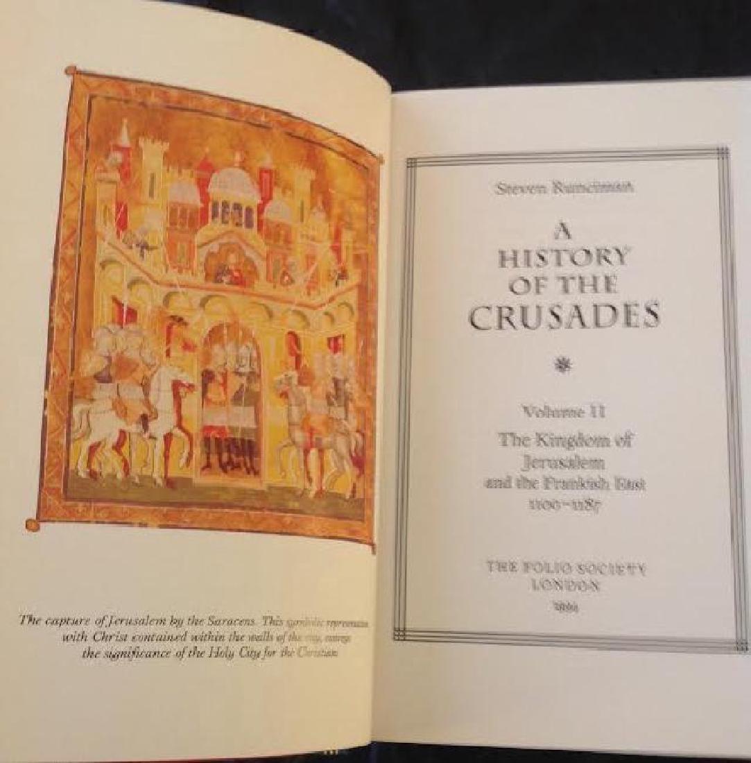 Folio Society History Of The Crusades by S.Runciman - 6