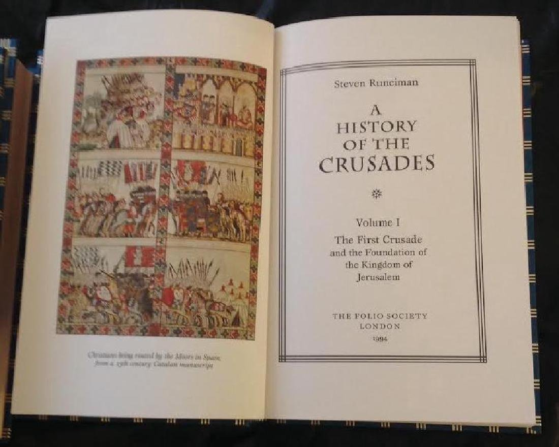 Folio Society History Of The Crusades by S.Runciman - 7