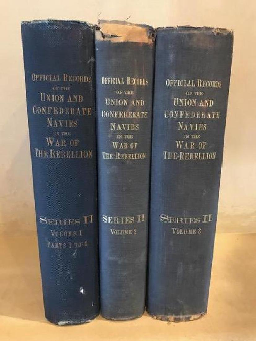 Official Records of The Union And Confederate Navies