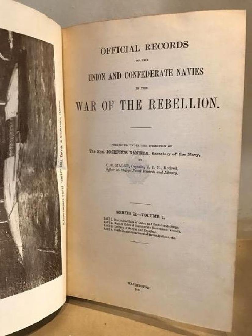 Official Records of The Union And Confederate Navies - 3