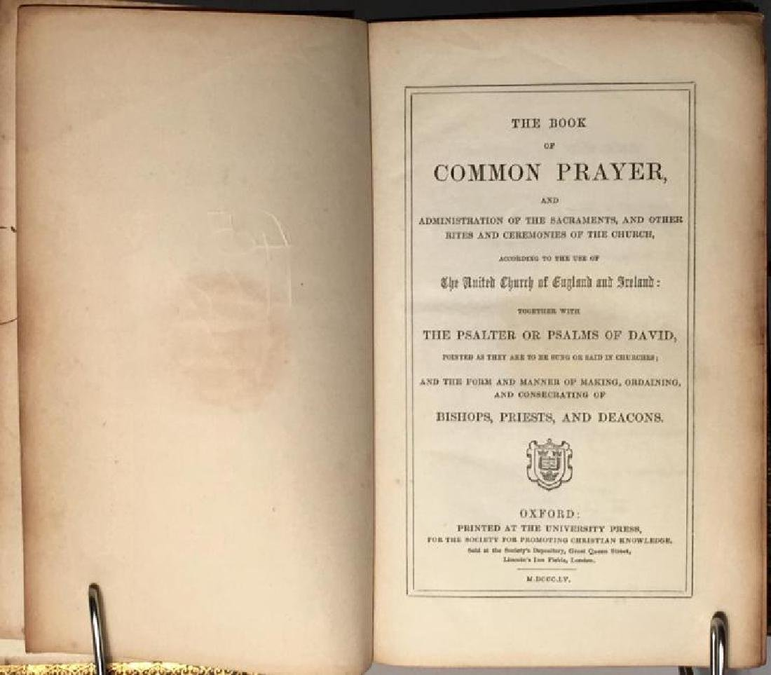Book Of Common Prayer & The Bible, Old & New Testaments - 3