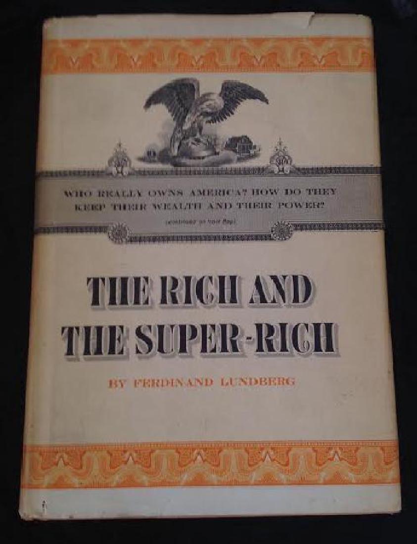 Rich & Super Rich by Ferdinand Lundberg 1968