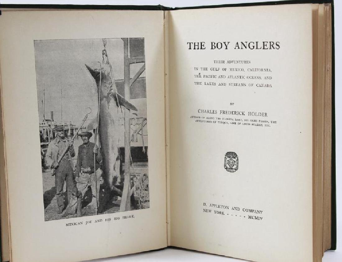 The Boy Anglers, First Printing - 2