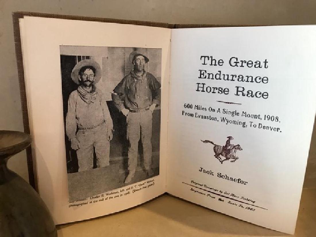 The Great Endurance Horse Race, Jack Schaefer - 6