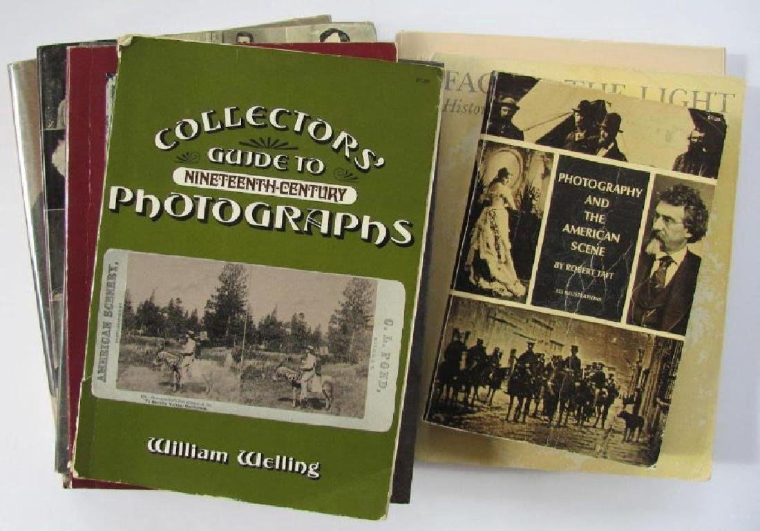 Lot of 8 Antique Photography Collector Books