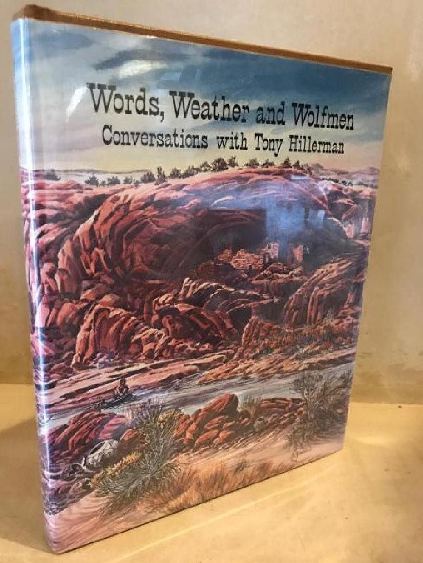 Words Weather and Wolfmen Conversations,Tony Hillerman