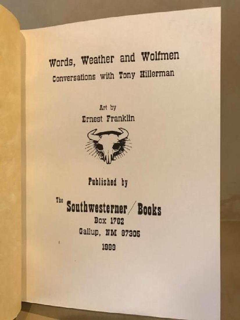 Words Weather and Wolfmen Conversations,Tony Hillerman - 6