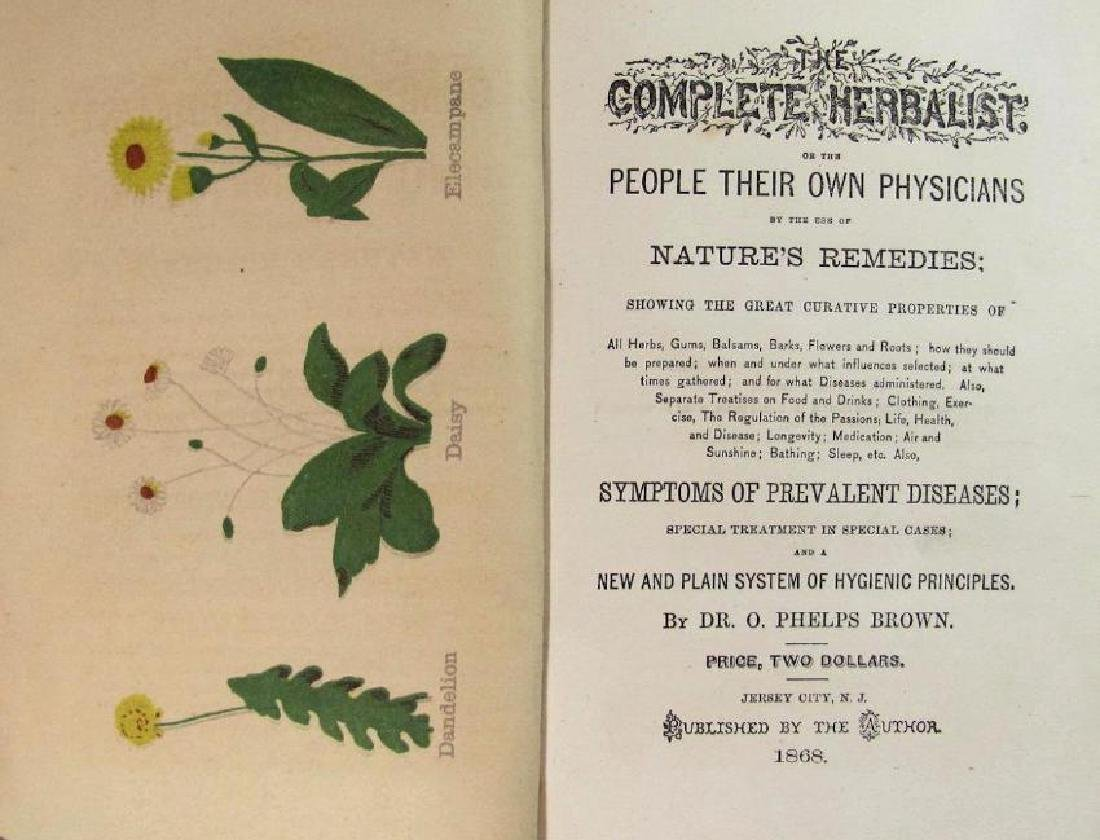 1868 The Complete Herbalist