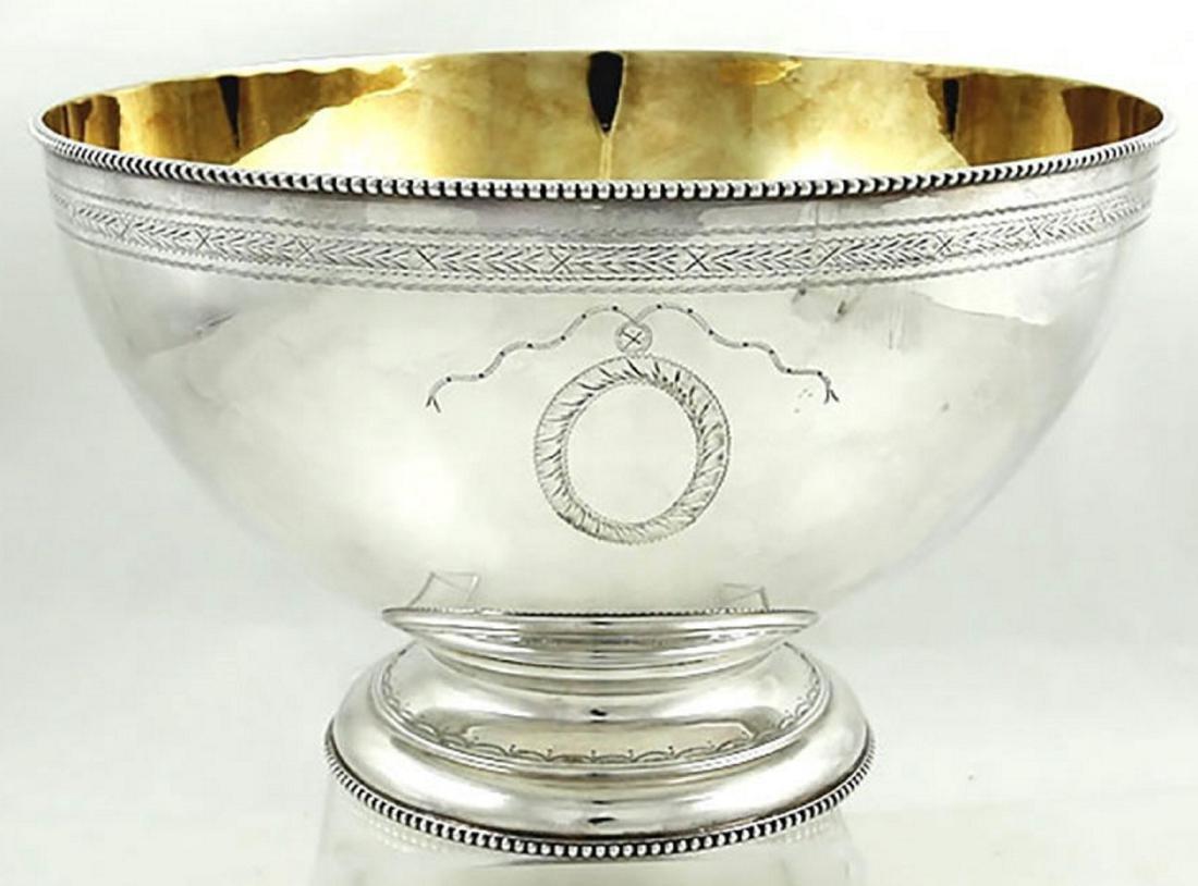 C J Vander Sterling Silver Bateman Style Bowl, 1973