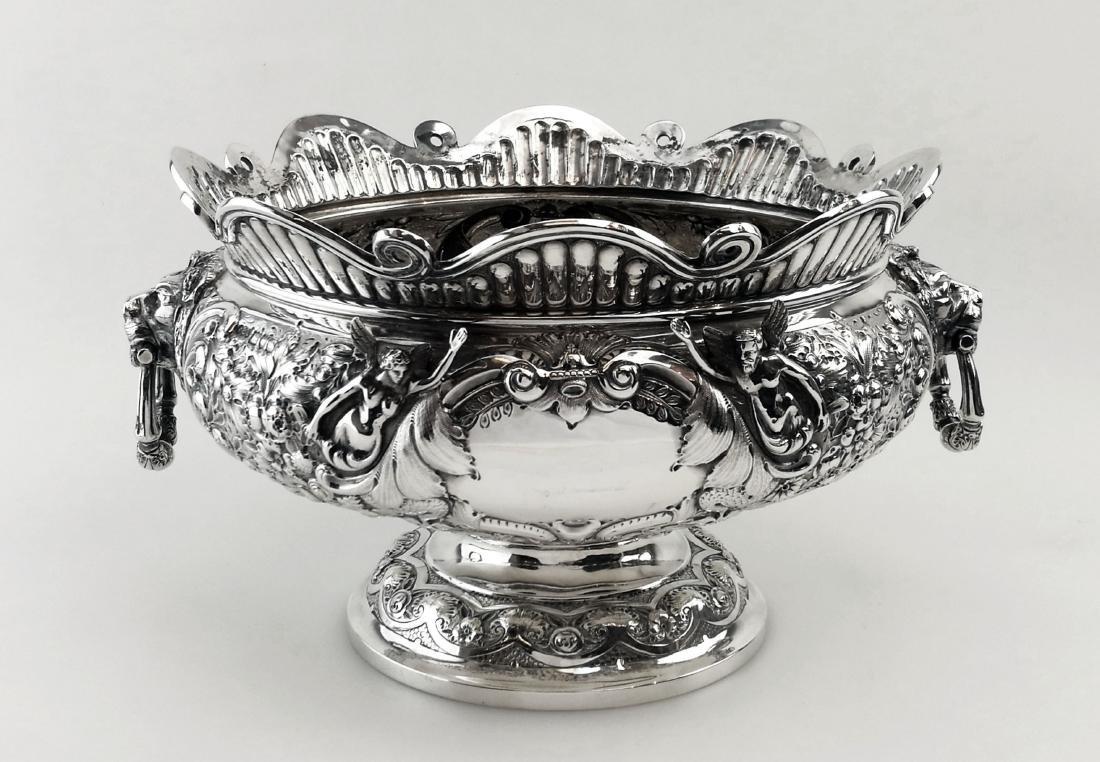 Antique Elkington Sterling Silver Armada Bowl, 1902