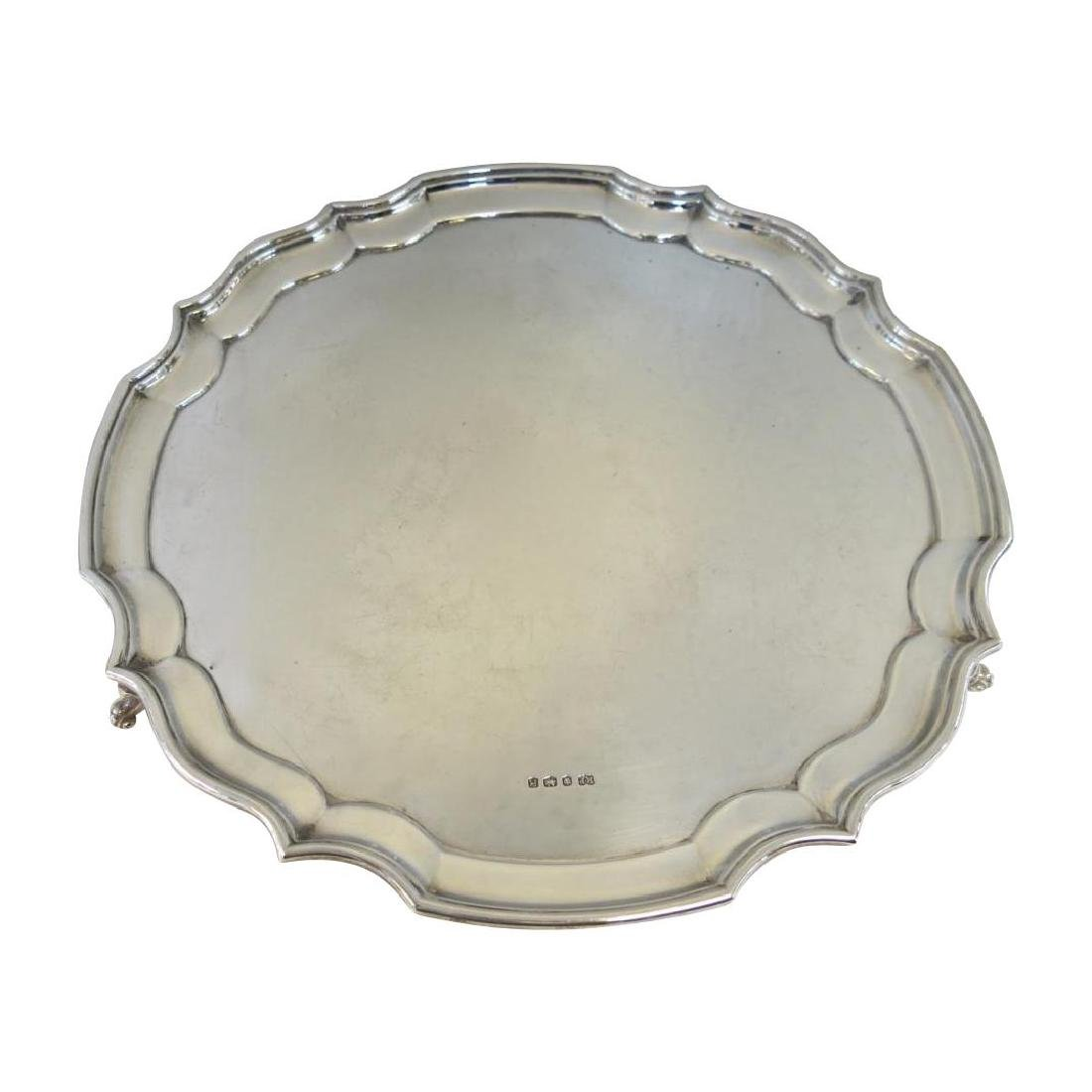 Robert Pringle & Sons Sterling Silver Footed Tray