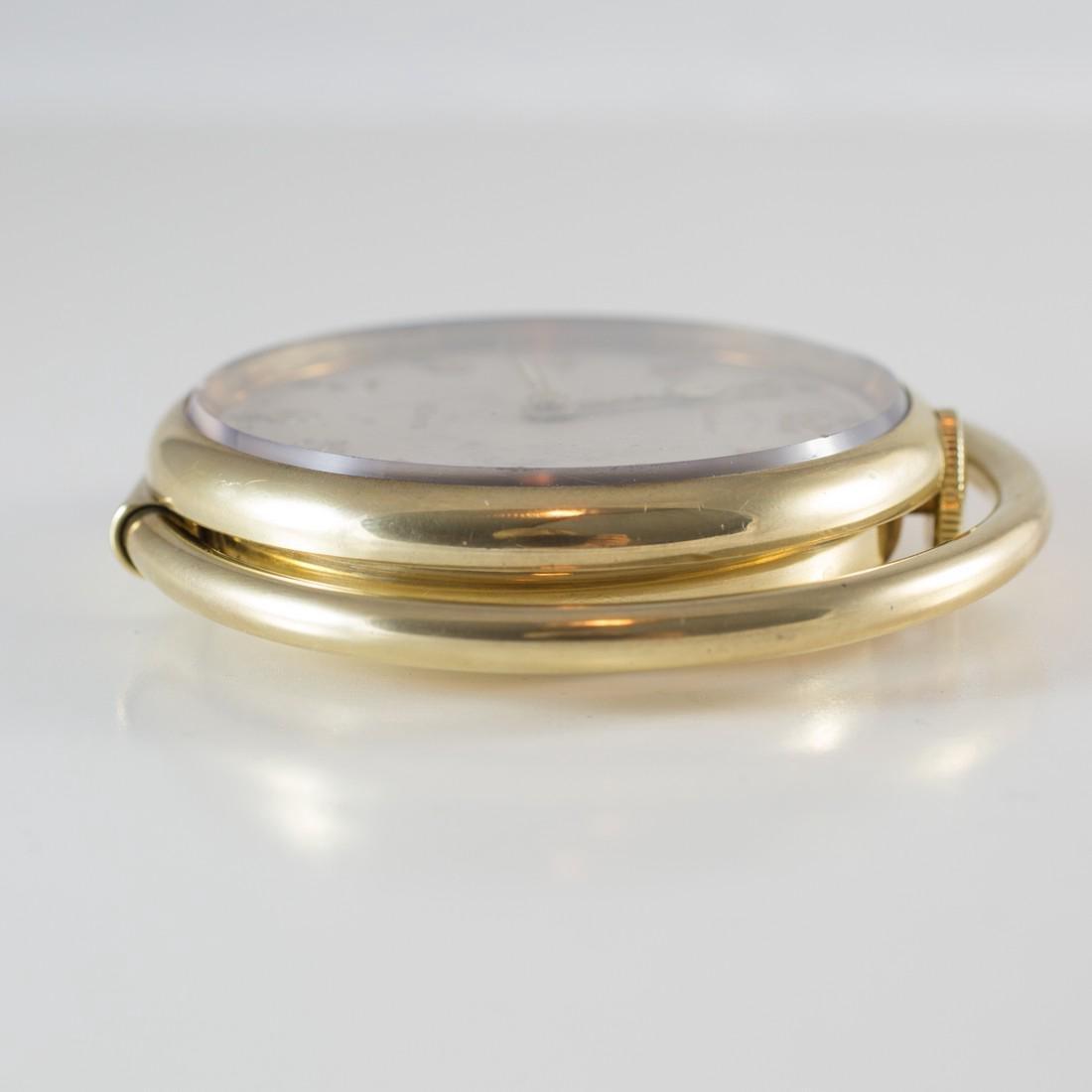 Cartier Swiss 8 Day 10K Gold Filled Travel Desk Clock - 6